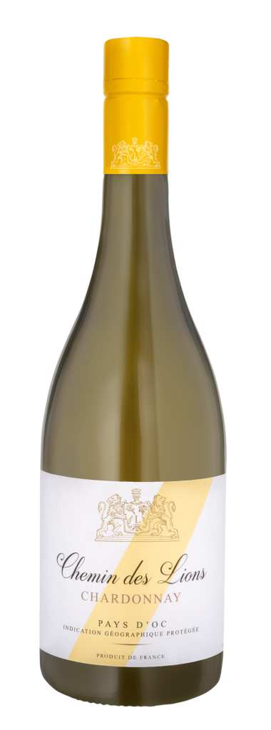 Chemin des Lions vin blanc Chardonnay