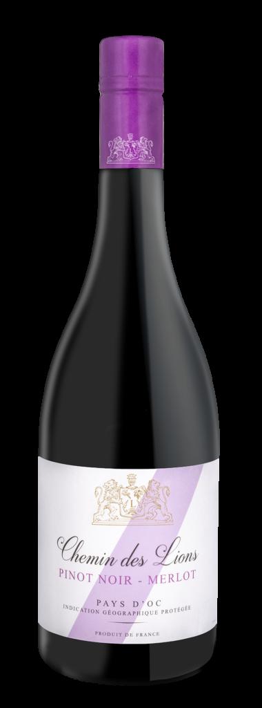 Chemin des Lions red wine pinot noir merlot